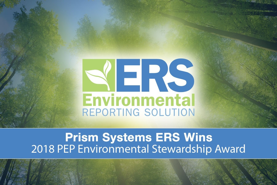 2018 PEP Environmental Stewardship Award Winner